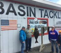 BASIN TACKLE COASTAL FISHING REPORT 8/16/17